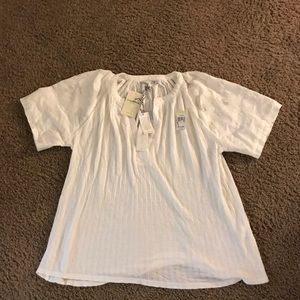 Small White Lucky Brand blouse